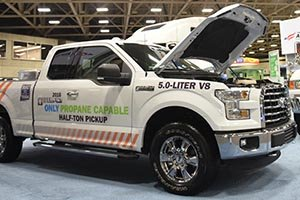 Ford's Propane Powered F-150 at the Government Fleet Expo and Conference