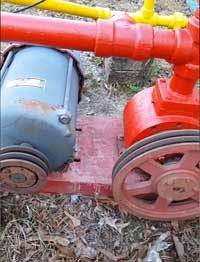 Image of a pump and motor.