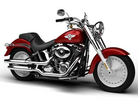 Harley Davidson Fat Boy Motorcycle