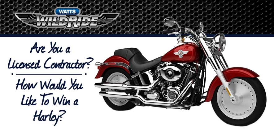 How would you like to win a Harley?