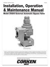 Installation, Operation, and maintenance manual.