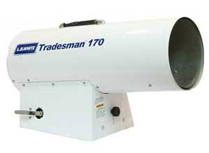 Tradesman 170 portable heater