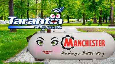 Tarantin Logo and a Manchester tank in love.