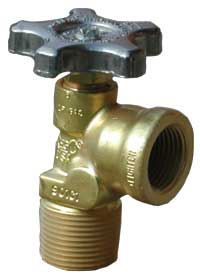 Service valve for ASME Motor Fuel container.