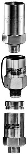 External relief valves for ASME containers and bulk plant installations.