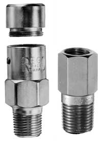 Hydrostatic relief valve.