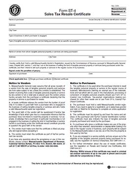 Tax form exemption sales pa pdf